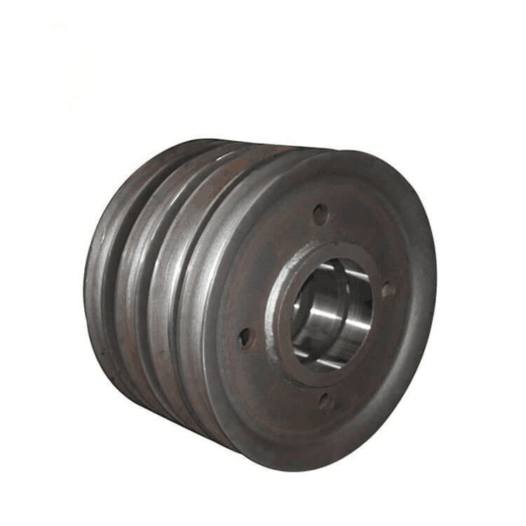 Single / Double Flange Overhead Crane Wheels Durable High Tensile Strength